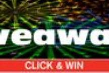 Click & Win Giveaways / Product giveaways from our Suppliers of products for people searching for specialty products