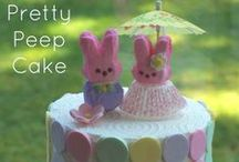Peep Party / Peep party Ideas - Marshmallow Peeps / by Party Pinching