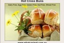It's Easter Time / Yummy recipes and handy articles for an Easter with food intolerances and special dietary needs.
