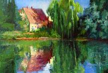 Nancy Paris Pruden / Oil Painting