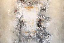 Brad Robertson / Mixed Media on Canvas