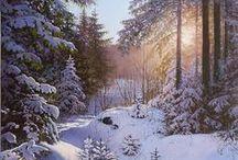 Ivan Blagorenko / Oil Paintings Of Landscapes