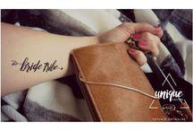 Bride Tribe / Temporary Tattoos / Tatuaże zmywalne idealne na Wieczór Panieński