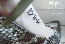 Bachelorette Party Bride Tattoo / Temporary Tattoos / Tatuaże zmywalne idealne na Wieczór Panieński dla przyszłej Panny Młodej. / Bachelorette Party