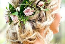 Bridal Hair and Beauty / Choosing the perfect hair and make for your wedding day isn't always easy. I tried out many different styles before I found the one that was perfect for me on my wedding day.