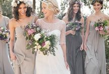 Bridesmaid Dresses / A bride always want me her bridesmaid to look stunning. So here some inspiration for different bridesmaid dress styles.