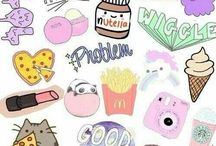 DRAWING STICKERS