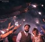 Weddings at Dusk / Who says the sun needs to be out for a wonderful day? Getting married at dusk or nightfall is easy at our woodland retreat - fairy lights and sparklers keep the darkness away! -- www.gellifawr.co.uk