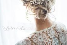 Boho Wedding Hair Ideas / Boho / hippie wedding hair inspo for a rustic wedding with those natural, woodland vibes. -- www.gellifawr.co.uk