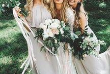 Boho Bridesmaid Ideas / Pastels, plaits & petals - boho inspo for your beautiful bridesmaids. -- www.gellifawr.co.uk