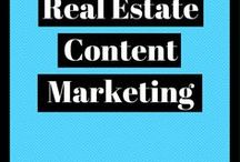Real Estate Content Marketing Ideas / How to come up with the best digital marketing strategy for real estate companies, and example of the types of content that real estate companies should be sharing on a regular basis.