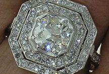 Antique Diamond Rings