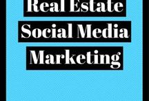 Real Estate Social Media Marketing / Real estate social media marketing tips and tricks for increasing engagement and reaching a wider audience online.