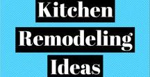 Kitchen Remodeling Ideas / Kitchen remodel before & afters