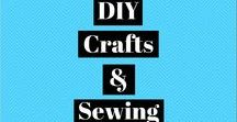 DIY - Crafts & Sewing / DIY craft and sewing projects.  #DIY #Sewing #Crafts