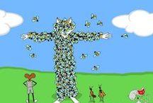 Fotogalerie Insekten, Website Vitus-Welt.eu / Nahmaufnahmen verschiedener Insekten