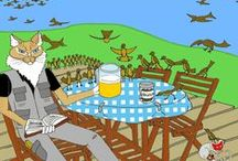 Fotogalerie Vögel, Website Vitus-Welt.eu / Nahmaufnahmen verschiedener Vögel