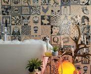 Salles de Bains ♥ / Carrelage salle de Bains & Inspiration : Bathrooms / Salle de Bains / Bagni