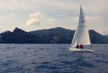 Sailing & Windsurfing / Outdoor Portofino offers lessons and experiences for adults and children in Portofino's Marine Protected Area.