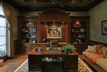 Awesome Home Office / How's this for a beautiful home office?!