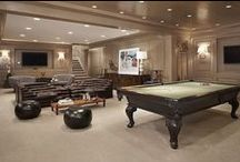 Man Cave Dreams / For that man who knows what he wants and is allowed to build it by his wife :)