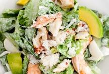 Salad/vegetables/fruit / by Anna Schneider