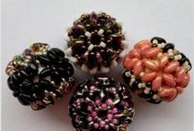 aB-did Beads with shaped seed beads / by I'm Loving Beads Nancy Gound