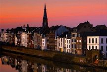 Maastricht, the place to be! / I love this town in the south of the Netherlands. I lived here for 7 years when I was a young girl.