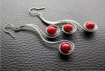 aB-did Earrings Wire Work / by I'm Loving Beads Nancy Gound
