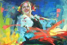 Artist - Renata Domagalska / by Jeanne