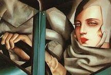 Artist - Tamara de Lempicka / by Jeanne