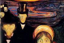 Artist - Edvard Munch / by Jeanne Medina