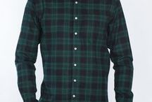 Tall Men's Shirts / Shirts that have longer length in the body and the sleeves specifically for taller men.