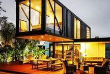 Shipping Container House / Maison container, Piscine container - Sélection de constructions économiques et rapides
