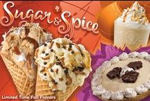 Fall Pin-spiration / Fall is in the air! Check out our fall inspiration board with everything that we love about the season— including our limited time fall ice cream flavors: Pumpkin and Salted Caramel.  / by Cold Stone Creamery