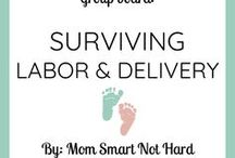 Surviving Labor and Delivery / You've survived nine months of pregnancy. Now it's time to survive labor and delivery! This group board is dedicated to preparing moms for labor and delivery.