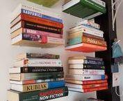 Galleksa Invisible Bookshelves in living room