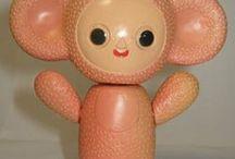 Ягненок / криповые игрушки которых к счастью не было в моем детстве а то б я совсем странной выросла