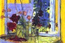 Flowers in paintings / paintings, flowers in art, still life