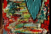 Altered Journal Pages / Artistic Journaling pages that make my heart sing / by Becky Loyall