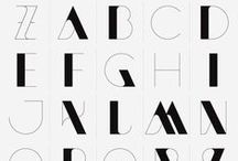 Fonts Type / Fonts & type / by Cath @ My Bearded Pigeon Home wares