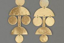 Earrings / Women's accessories / Accessories, women's jewellery, earrings, statement earrings, silver jewellery, gold jewellery, large earrings, modern womens jewellery, womens statement piece