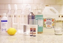 Cleaning Products / Homemade cleaners / by Amanda Mahan