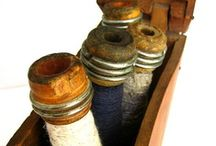 Baskets, Crocks, Spools and BuTtOnS   / by Lulabelle