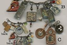 Altered Jewelry / Artistically altered and recycled jewelry  / by Becky Loyall