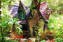 Altered Houses / Artistically altered tiny houses / by Becky Loyall