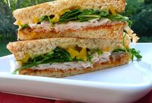 Sandwich Type Stuff / Hand held foods / by Becky Loyall