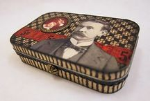 Altered Tins / All kinds of tins altered in artistic ways / by Becky Loyall