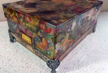 Altered Boxes / Artistically altered and refurbished boxes / by Becky Loyall