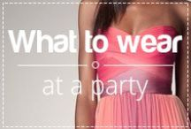 What to wear for drinks? / Wearing the right dress, having a party and drinking cocktails...